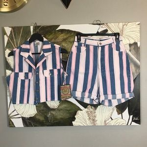 NWT VINTAGE Denim Set